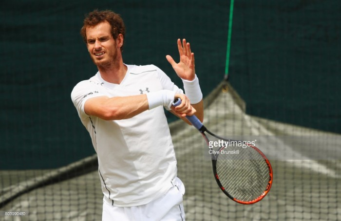 "Wimbledon 2017: Murray insists he's ""feeling good"" despite hip concerns"