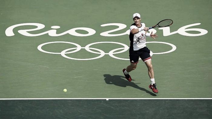 Rio 2016, tennis maschile: Murray soffre ma va in semifinale