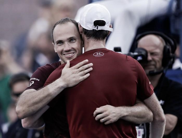 """Bruno Soares comemora vitória e mira final do US Open: """"Vamos entrar para ganhar"""""""