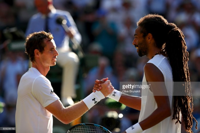 Wimbledon 2017: Flamboyant Brown no match for Murray on Centre Court