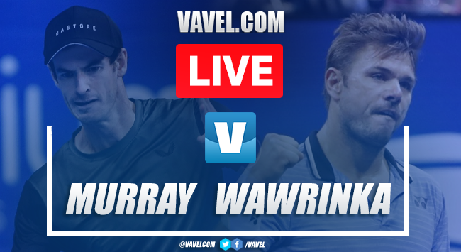 Murray vs Wawrinka: LIVE Stream and Final Updates