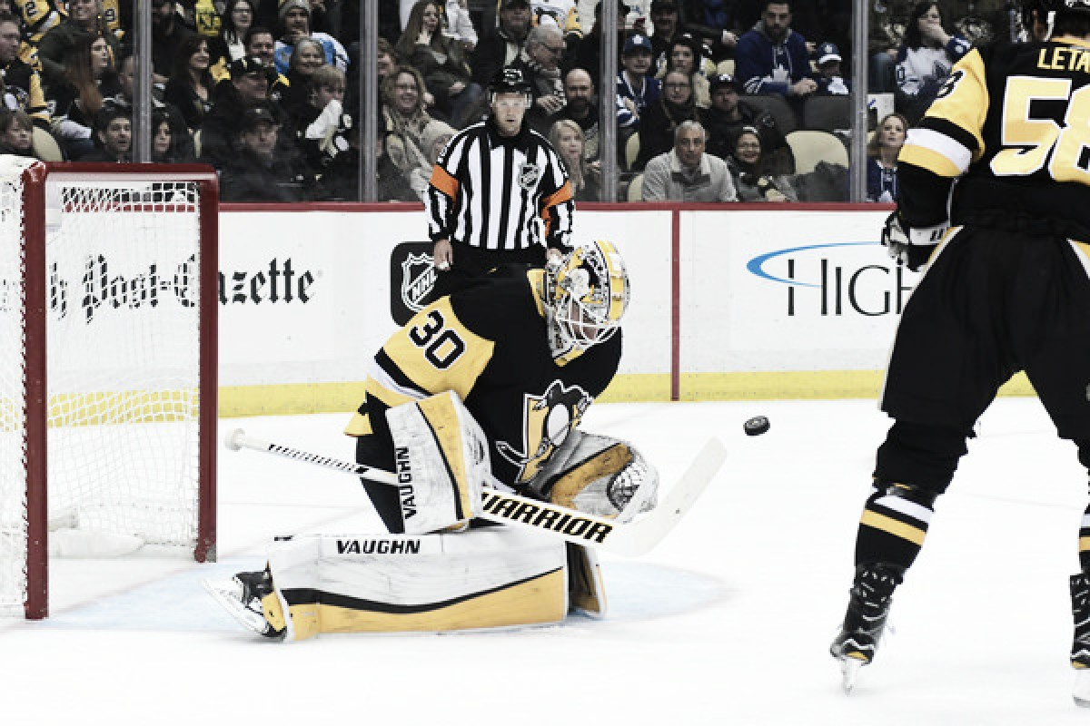 Pittsburgh Penguins Goalie Matt Murray Sidelined with Concussion