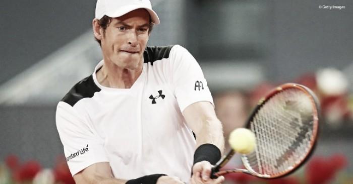 Murray busca repetir la historia en Madrid