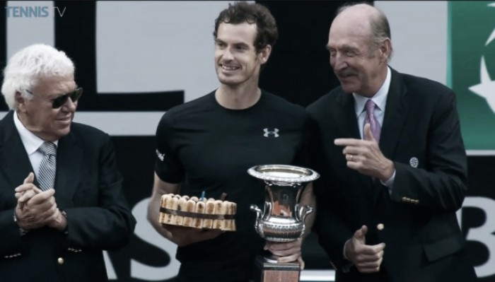 Andy Murray es campeón en Italia