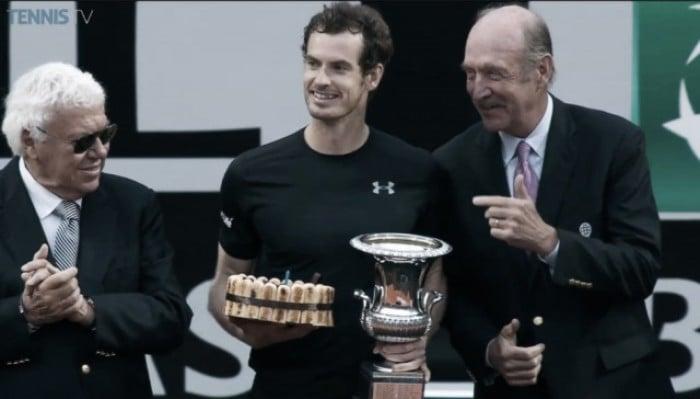 AndyMurray es campeón en Italia