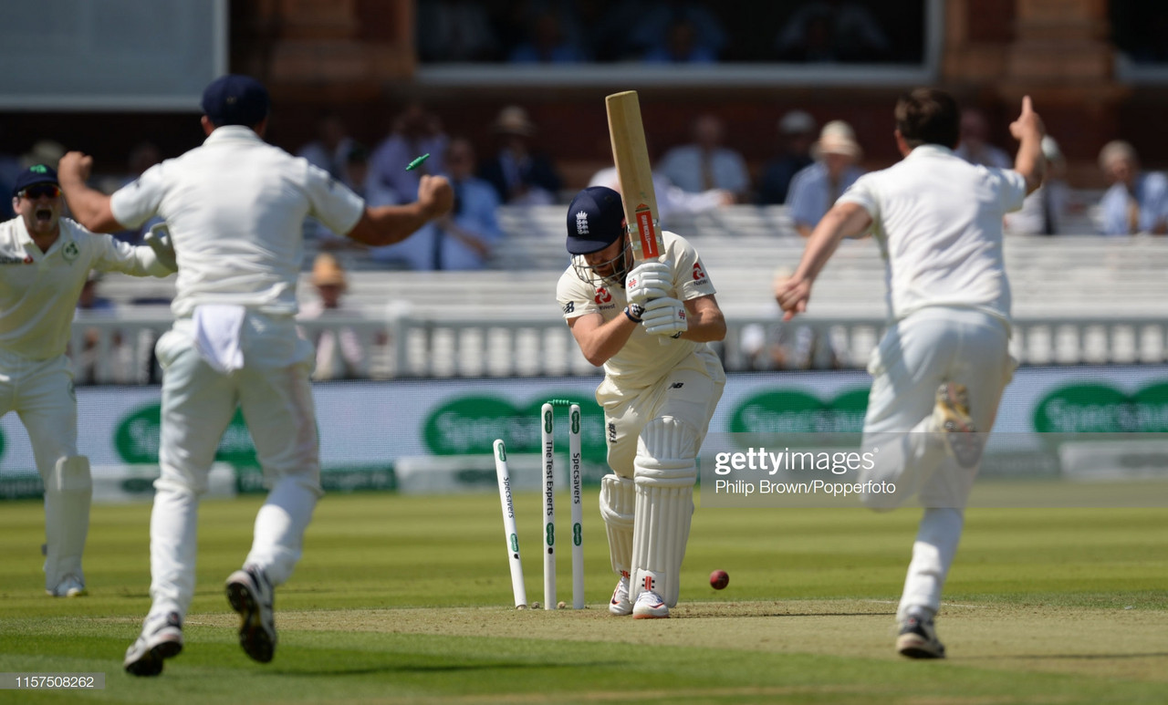England vs Ireland, Day One: World Cup winners struggle against Test newcomers