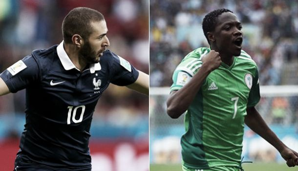 França e Nigéria lutam por um lugar nos quartos