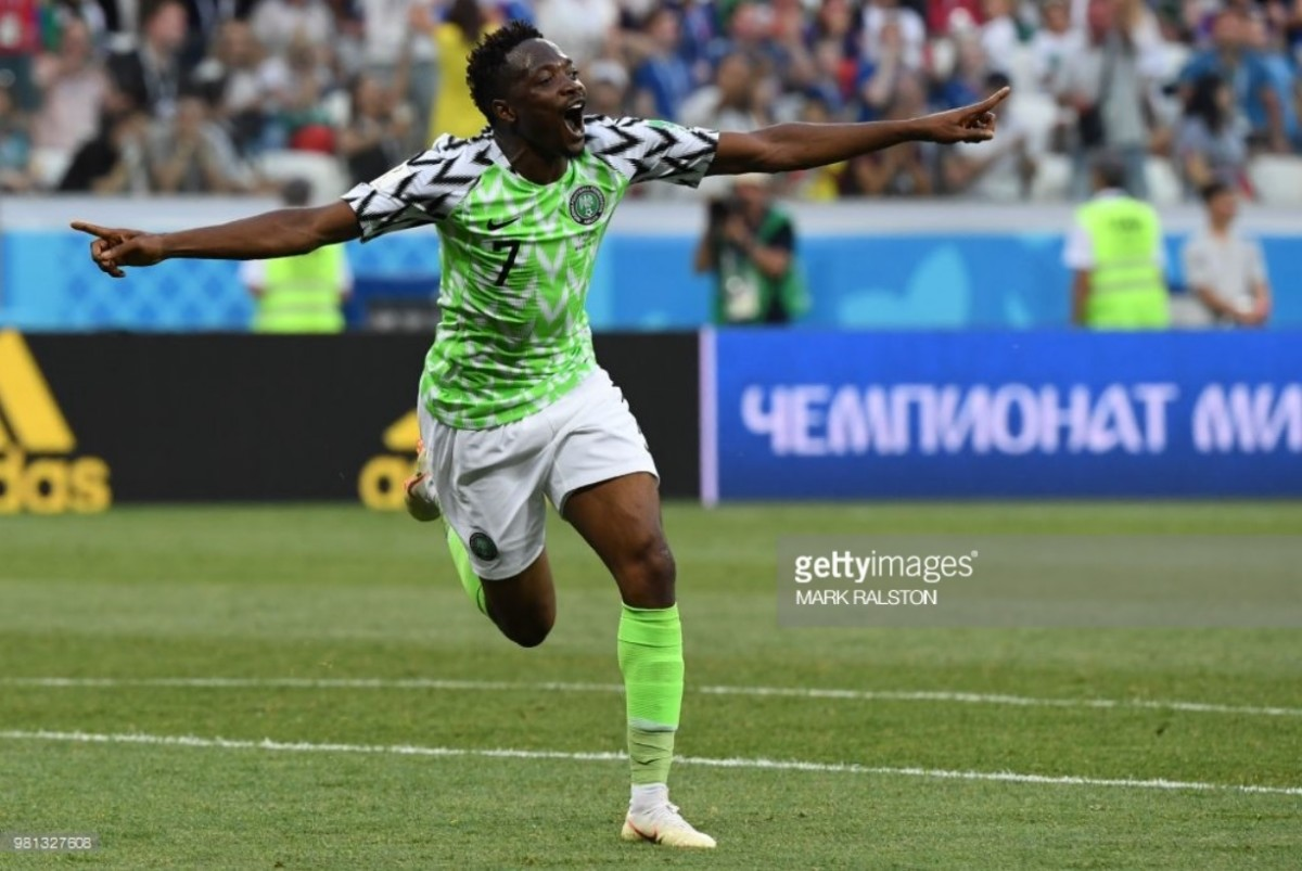 Nigeria 2-0 Iceland: Musa brace gives Super Eagles hope of progression