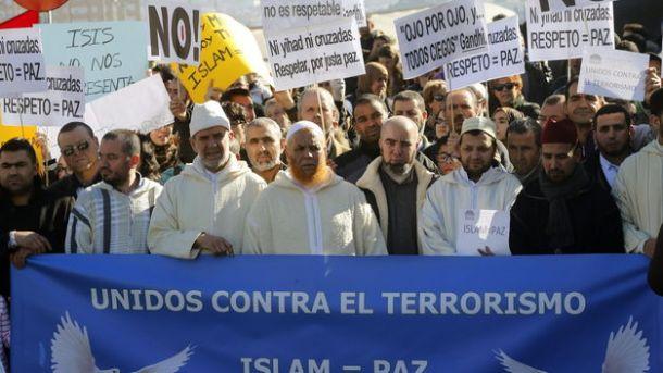 Madrid se solidariza con las víctimas del terrorismo