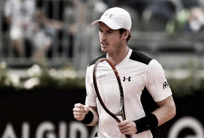 Andy Murray vence Lucas Pouille com facilidade e está na final do Masters 1000 de Roma