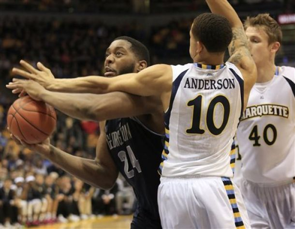 Georgetown Avoids Upset, Beats Marquette In Controversial Fashion