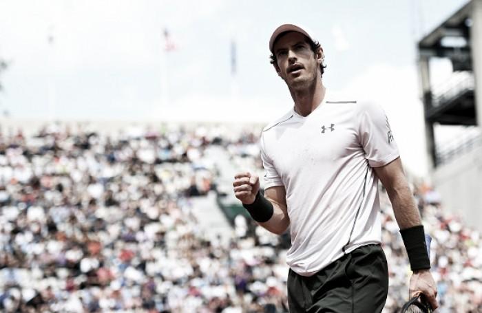 Andy Murray bate Isner e avança às quartas em Roland Garros