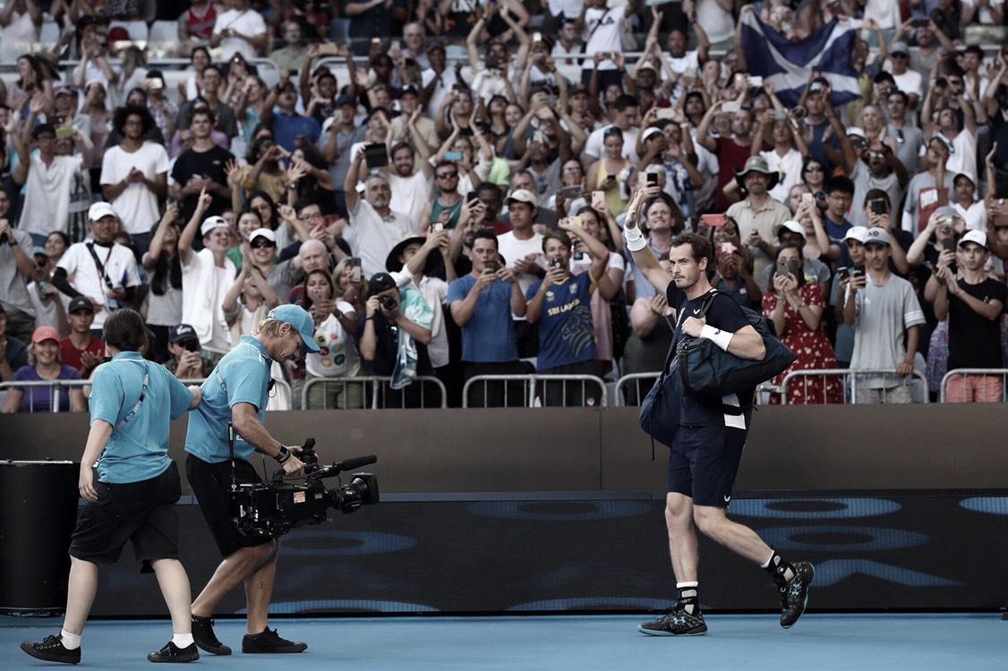 Andy Murray se despide del Australian Open