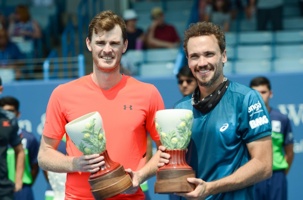 ATP Cincinnati: Murray/Soares claim their first Masters title as a team with victory over Cabal/Farah
