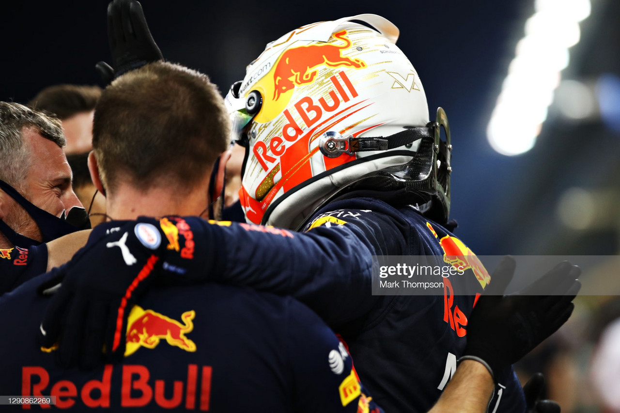 Abu Dhabi GP Qualifying - Verstappen snatches his first podium for 2020