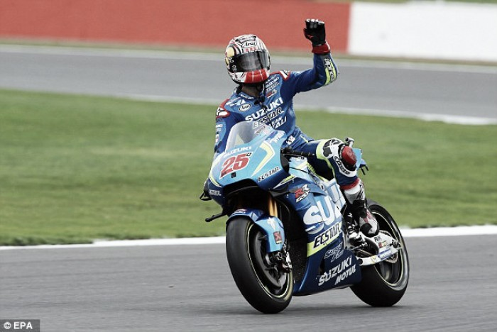Vinales claims first every MotoGP victory at Silverstone