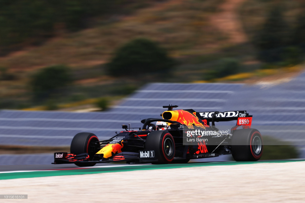 Max Verstappen charges to the front yet again - Portimão FP3 2021