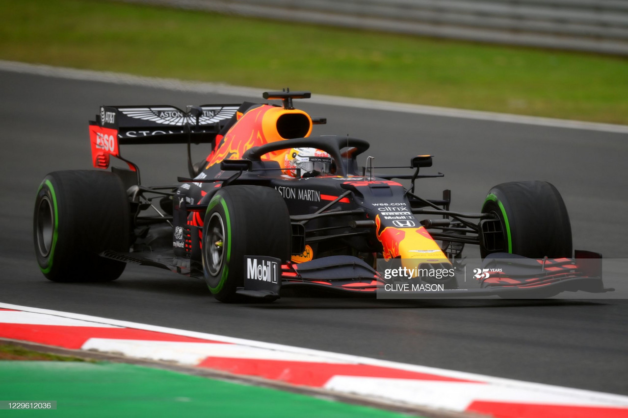 Max Verstappen leads the field in heavily rain-affected FP3 - Turkish GP