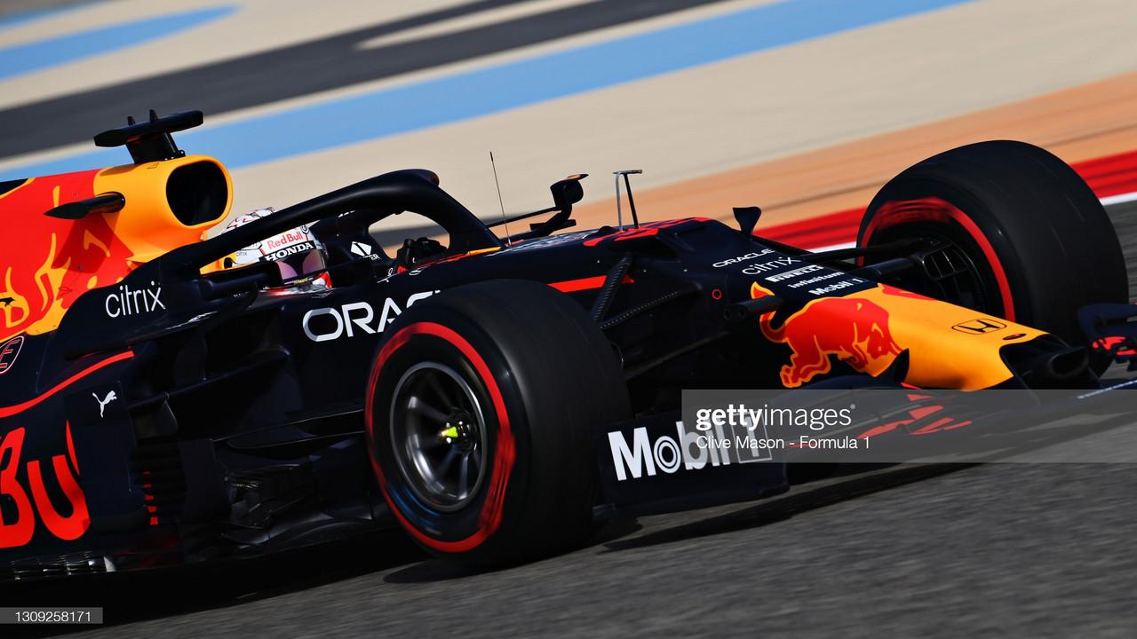 Verstappen starting on the front foot - Bahrain FP1