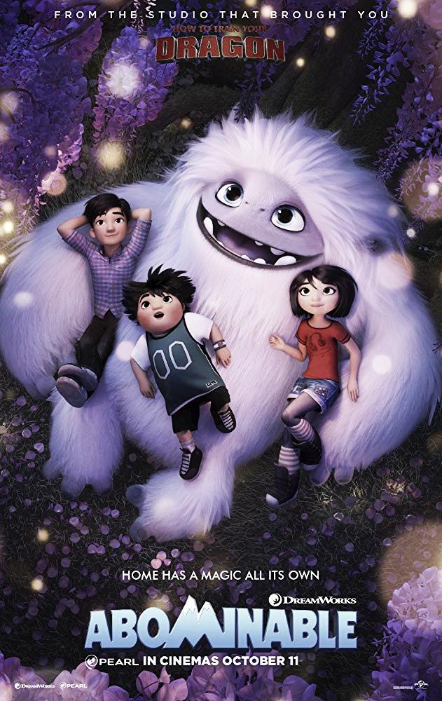 """""""Abominable"""" la nueva cinta cliché de Dreamworks"""
