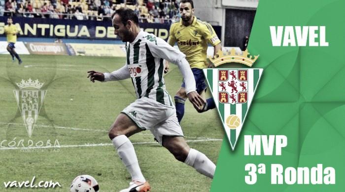 Juli, MVP del Córdoba CF ante el Cádiz CF según los lectores de VAVEL.com