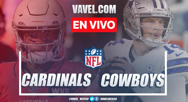 Resumen y touchdowns del Arizona Cardinals 38-10 Dallas Cowboys en NFL 2020
