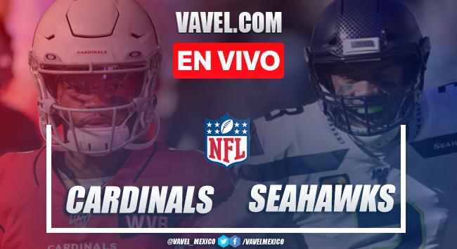 Resumen y anotaciones del Arizona Cardinals 21-28 Seattle Seahawks en NFL 2020