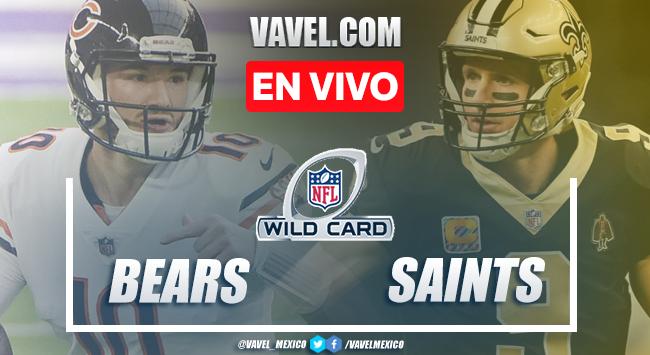 Resumen y touchdowns del Chicago Bears 9-21 New Orleans Saints en Playoffs NFL 2021
