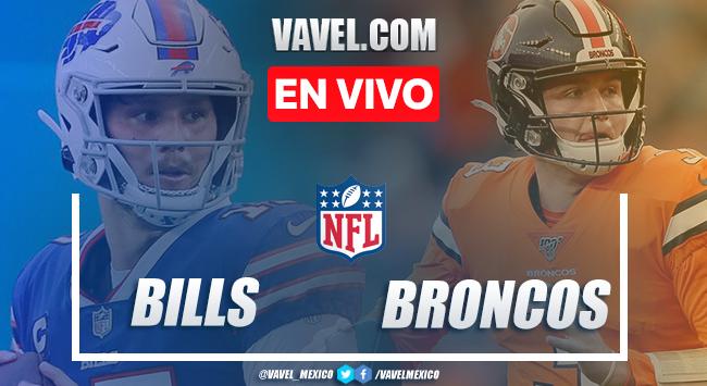 Resumen y anotaciones del Buffalo Bills 48-19 Denver Broncos en NFL 2020