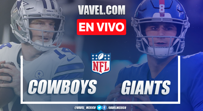 Resumen y touchdowns del Dallas Cowboys 19-23 New York Giants en NFL 2020
