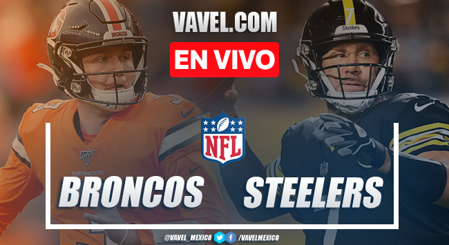 Resumen y touchdowns del Denver Broncos 21-26 Pittsburgh Steelers en NFL 2020