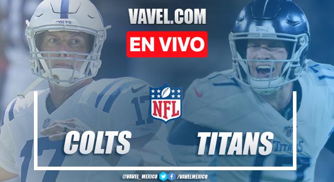 Resumen y anotaciones del Indianapolis Colts 34-17Tennessee Titans en NFL 2020