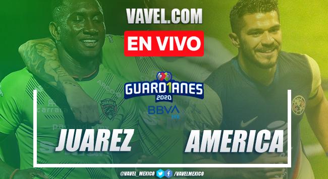 Goles y resumen del Juárez 1-1 América en Liga MX 2020