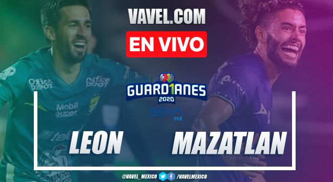 Goles y resumen del León 2-1 Mazatlán en Liga MX 2020