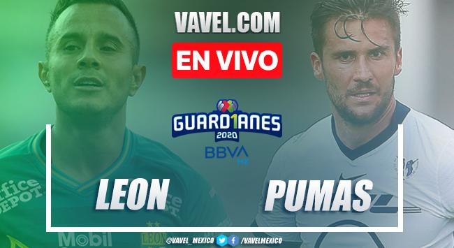 Goles y resumen del León 2-0 Pumas en Final Liga MX 2020