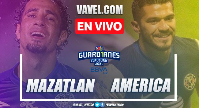 Gol y resumen del Mazatlán FC 0-1 América en Liga MX 2021