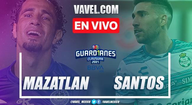 Resumen y mejores momentos del Mazatlán 0-0 Santos Laguna en Liga MX 2021