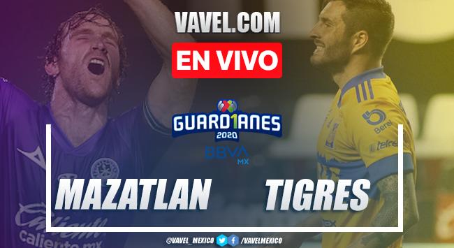 Goles y resumen del Mazatlán 1-1 Tigres en Liga MX 2020