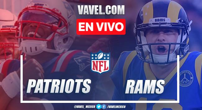 Touchdowns y resumen del New England Patriots 3-24 Los Ángeles Rams en NFL 2020