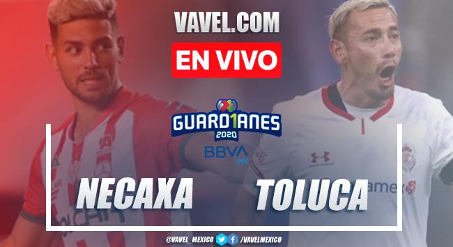Goles y resumen del Necaxa 3-2 Toluca en Liga MX 2020