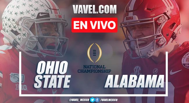 Resumen y touchdowns del Ohio State 24-52 Alabama en Final NCAA 2021