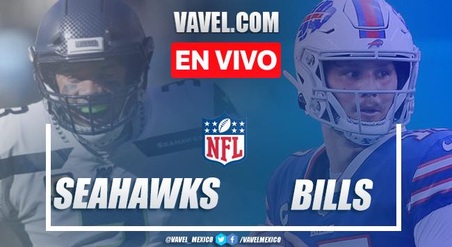 Resumen y anotaciones del Seattle Seahawks 34-44 Buffalo Bills en NFL 2020