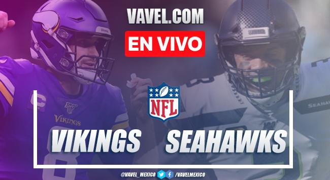 Resumen y anotaciones del Minnesota Vikings 26-27 Seattle Seahawks en NFL 2020
