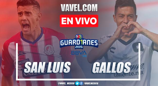 Resumen y goles del Atlético de San Luis 2-1 Querétaro en Liga MX 2020