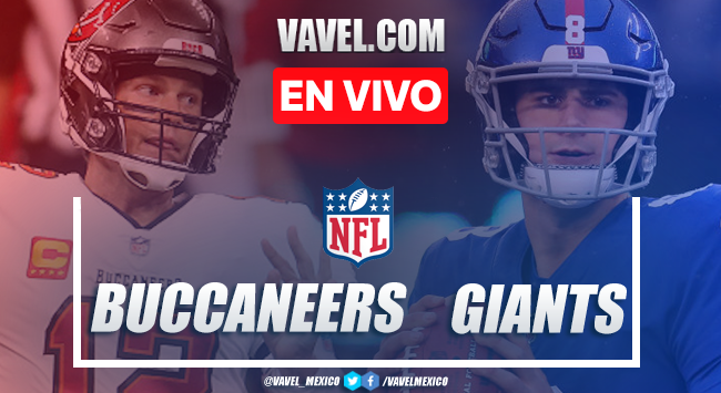 Resumen y anotaciones del Tampa Bay Buccaneers 25-23 New York Giants en NFL 2020