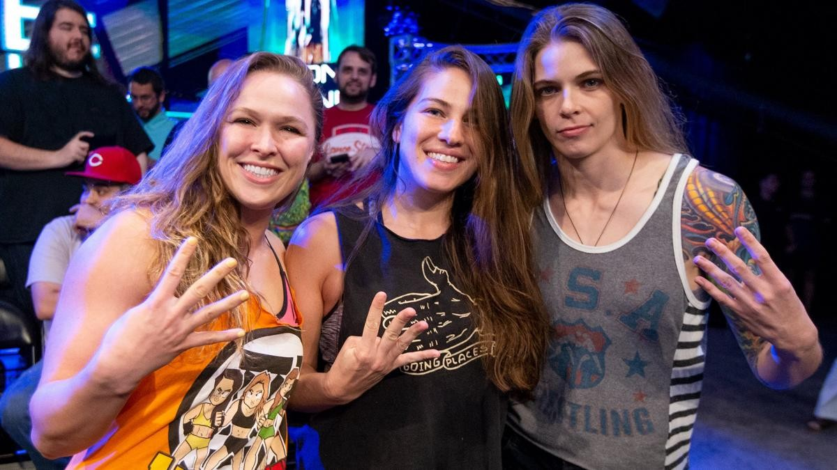 Four Horsewomen of MMA all working for WWE