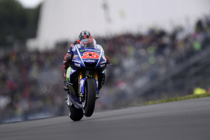 MotoGP: Dramatic end to French GP sees Vinales collect third win