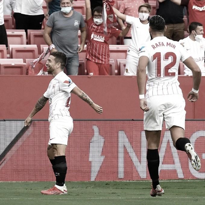 Resumen Sevilla FC vs Valencia FC en LaLiga Santander (3-1)