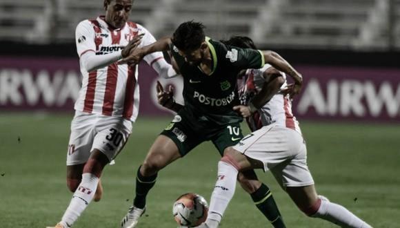 Puntuaciones en Atlético Nacional tras su eliminación en la Sudamericana