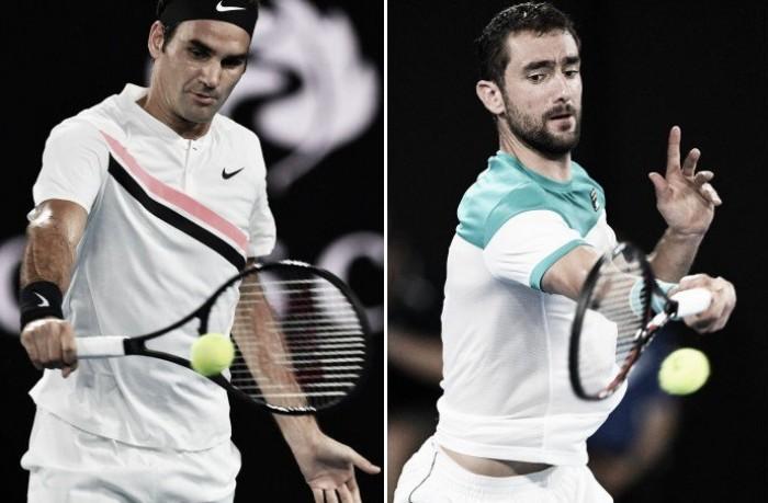 Roger Federer vence Marin Cilic na final do Australian Open 2018 (3-2)